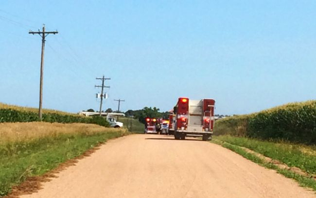 Harvest brings on NPPD message to farming operations: 'look up and around'