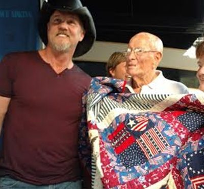 RRN/Trace Adkins & George Spencer -- photo Dirk Christensen -- 7-22-16