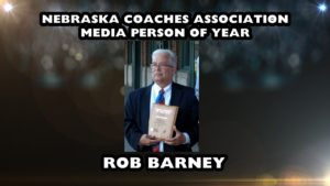 Barney receives Nebraska Coaches Association award