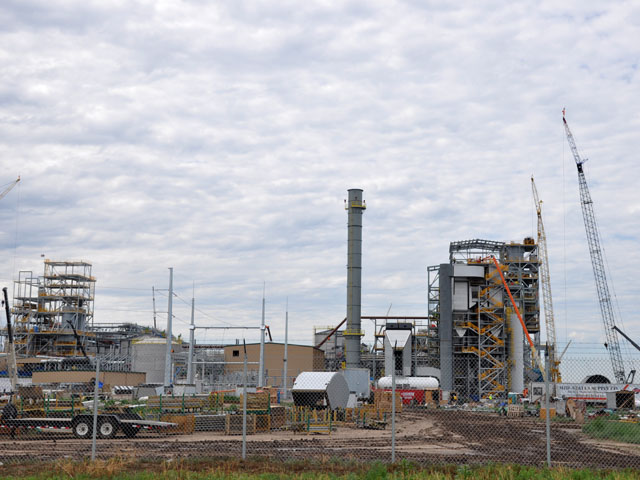 Hugoton KS Abengoa Cellulosic Ethanol Plant Draws Wide Interest