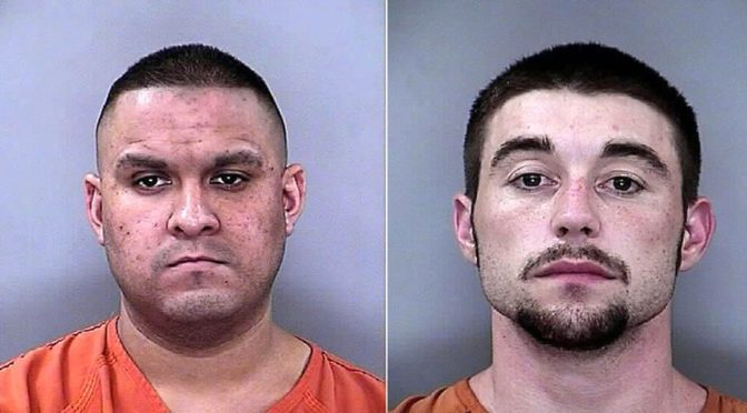 Courtesy/ Buffalo County Sheriff's Office. Jovani Jacobo, Brandon Benhan.