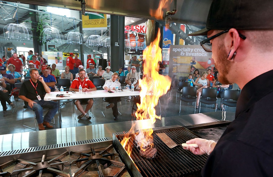 Nebraska State Fair Features Beef Masters Culinary Challenge