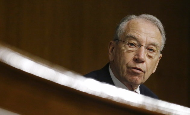 Grassley Warns Democrats Could Replace Him if Iowa Gov. Reynolds Loses
