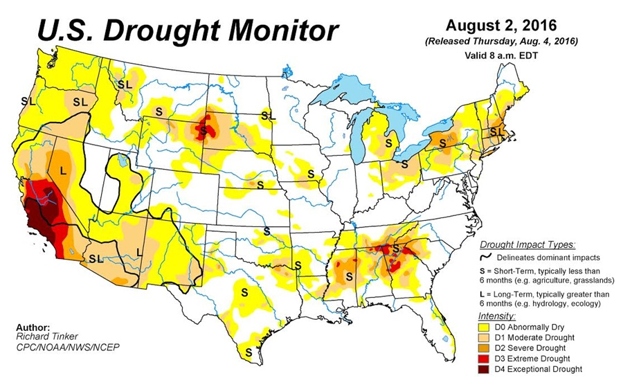 Drought Continues to Creep Into Nebraska   KRVN Radio