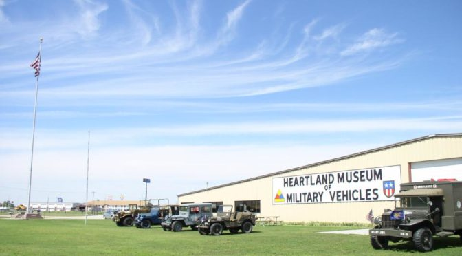 Courtesy/Heartland Museum of Military Vehicles in Lexington