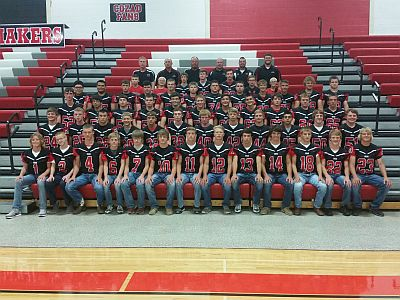 2016 Cozad Football Squad, RRN Photo