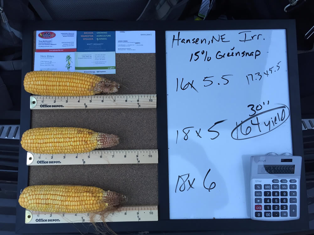 Photo courtesy of Jarrod Creed, senior director of customer risk management with Gavilon in Omaha and a Pro Farmer tour scout.