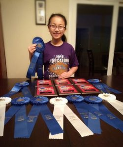 Scottsbluff student makes splash at State Fair Education Competition