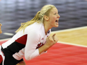 Hunter Named B1G Co-Setter of the Week