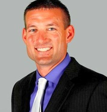 UNK Head Football Coach, Josh Lamberson, Courtesy UNK Sports Information