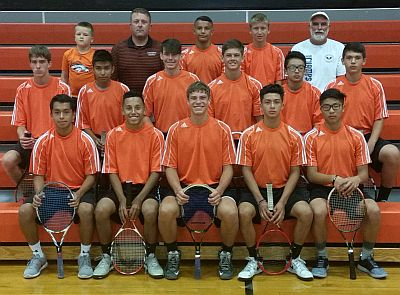 Lexington boys tennis team, RRN Photo