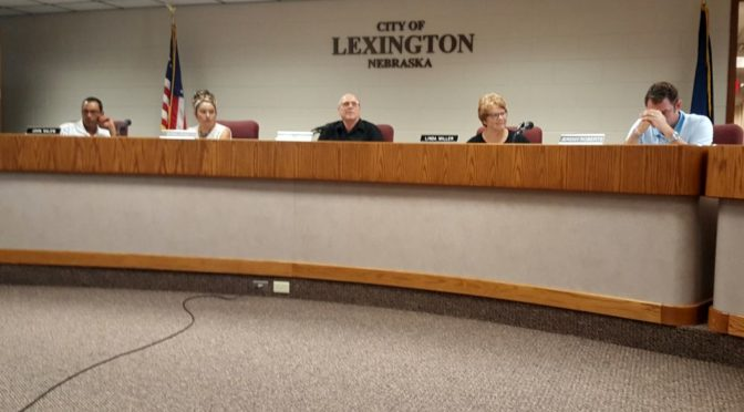 RRN/ Lexington City Council met Tuesday August 23, 2016.