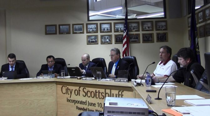 Scottsbluff City Council - August 15, 2016 (Strang/RRN/KNEB)
