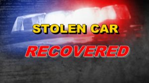 Chadron Police recover stolen car; South Dakota man in custody