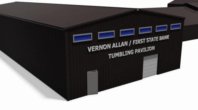 Tumbling pavillion