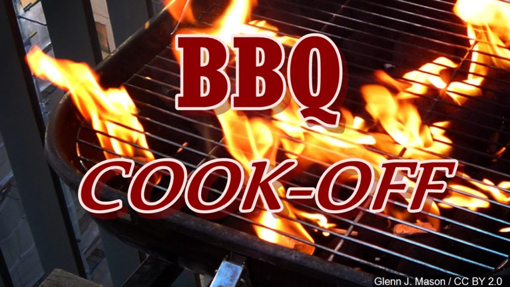 1st BBQ Cook-Off scheduled for Saturday; Registration by today