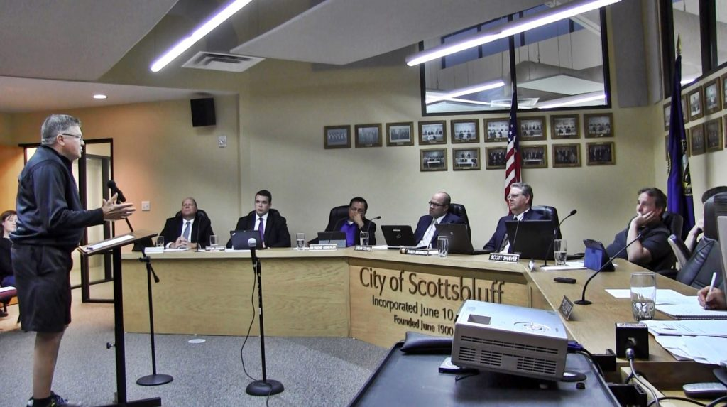 Scottsbluff council approves first reading of restaurant tax