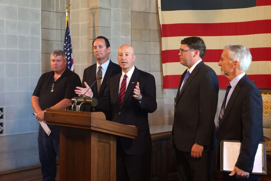 Gov. Ricketts, Roads Department Unveil Selection Criteria for County Bridge Program