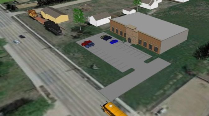 Courtesy/ BD Construction.  Image of Family History Center to be built as an extension of the Buffalo County Historical Society's Trails & Rails Museum in Kearney.