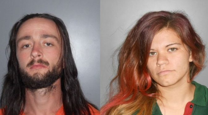 Courtesy/ Dawson County Sheriff's Office.  Joseph Pittman, Jewel Ramirez.