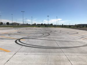 Criminal Mischief reported at new recreation facility