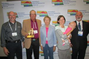 Tree Planter of the Year award includes: John Duplissis – Nebraska Forest Service Bob Price – Family Cathy Prince – Family Lindsey Smith – Family Robyn Smith (3 month old girl) – Family Jim Bendfeldt - Nebraska Association of Resources Districts President