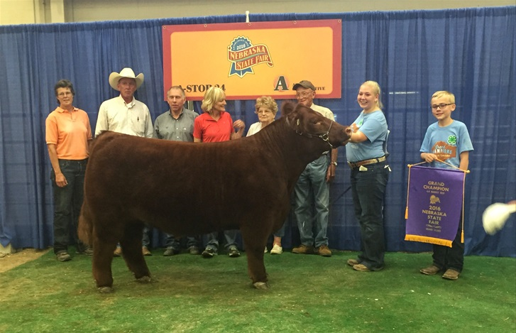 (AUDIO) Nebraska State Fair Beef Champions