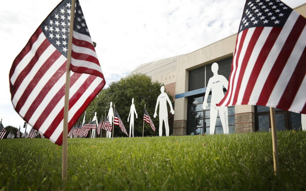 UNK art, design students create 9/11 tribute