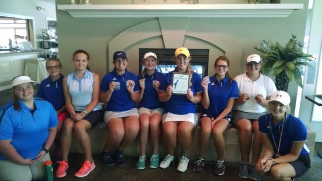 Lady Dukes defend home course