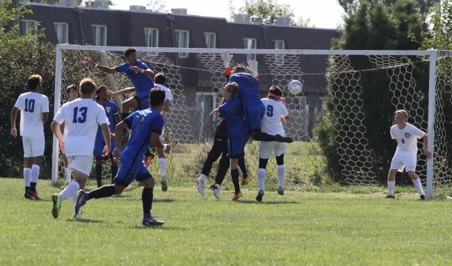 Falco and Camargo lead York Panthers past Grace