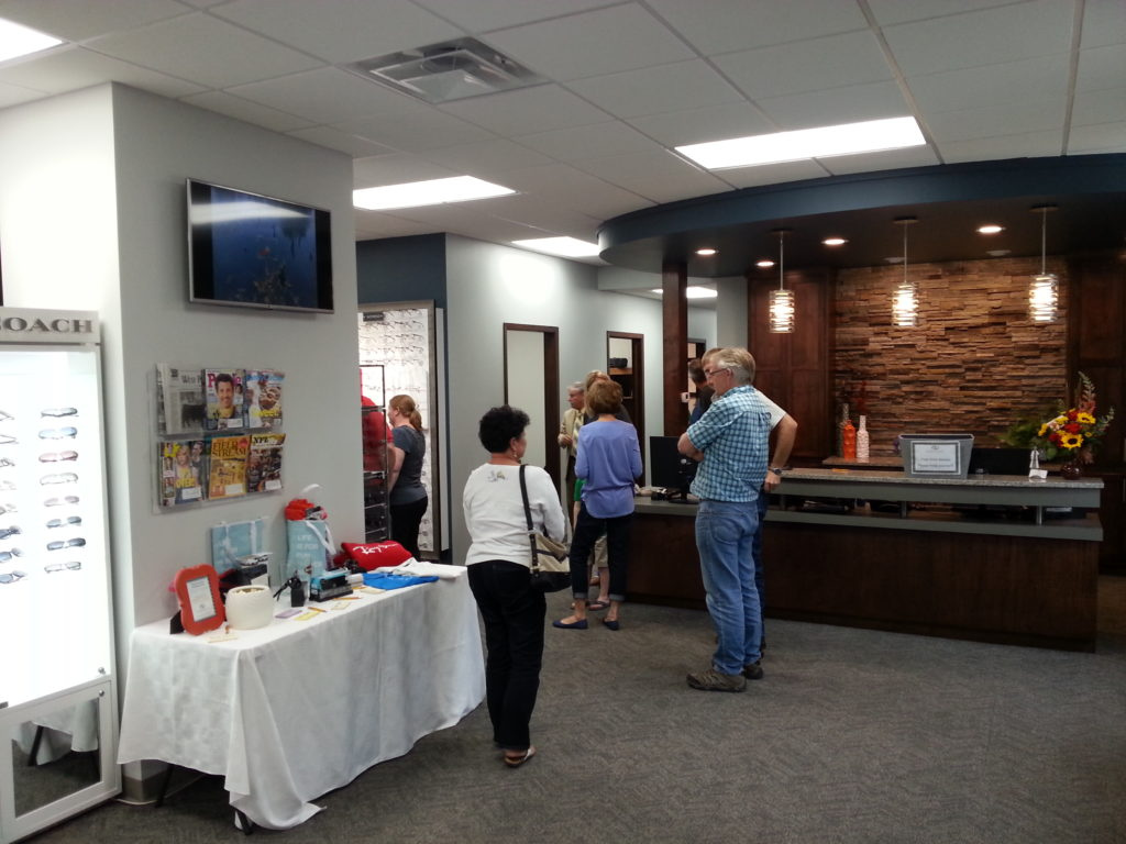 (Audio) Northeast Eye Care Holds Open House In West Point