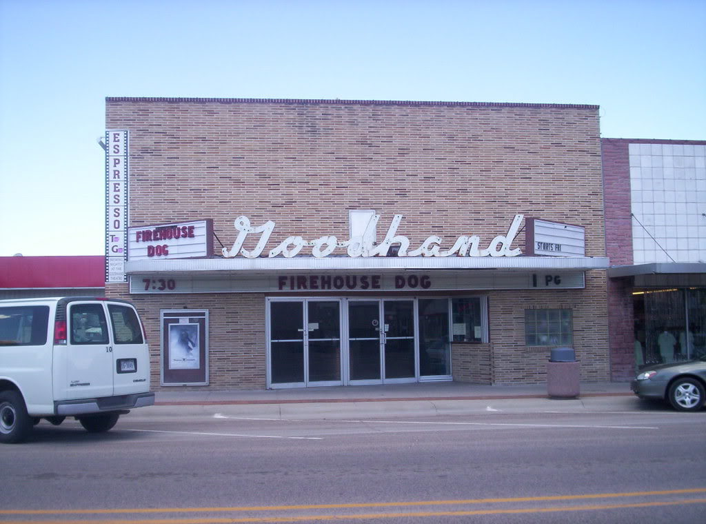 OTCF donation helps provide new awning for Kimball's Goodhand Theater
