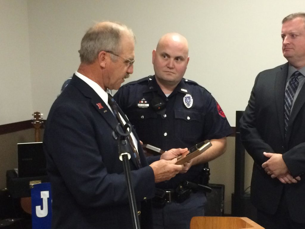 Law Enforcement Recognized At State Grange Convention