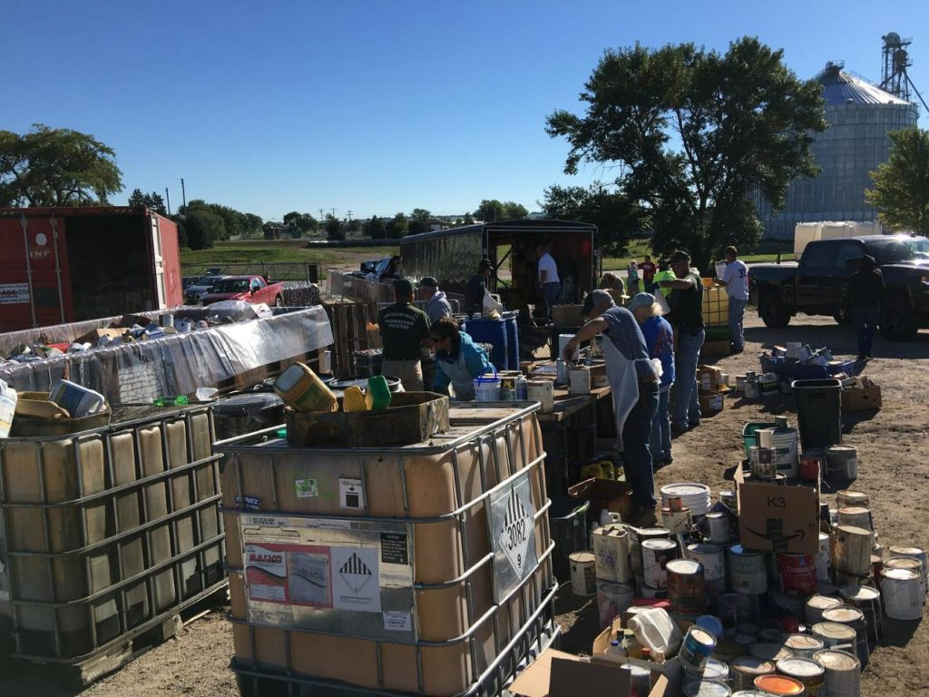 RC&D Shares Results of HHW & E-waste Collections In Wayne