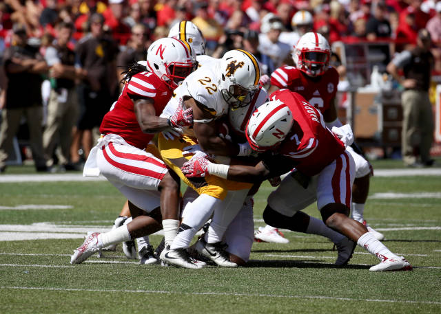 Nebraska Defense Pushes for a Win