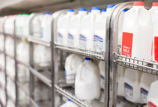 Food Banks Struggling With Too Much Milk