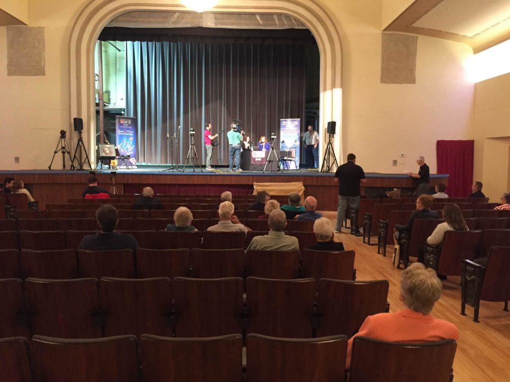 NET Radio Broadcasts From West Point Community Theatre