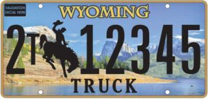 Wyoming to get rid of Tetons image on license plates