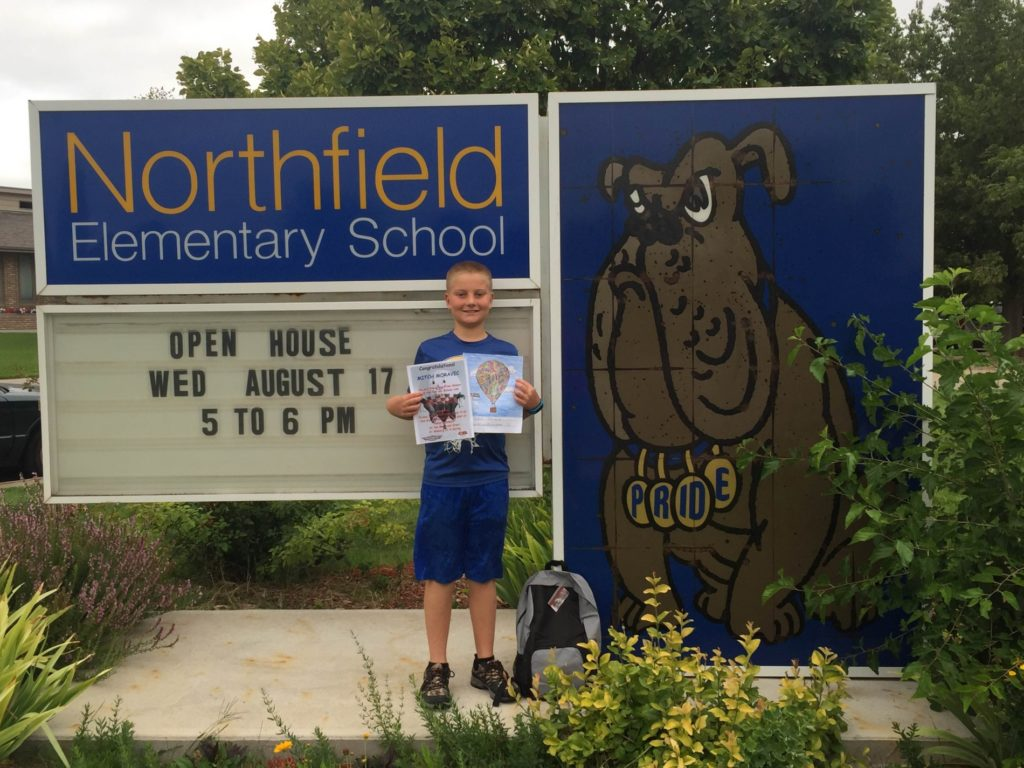 Gering youth wins Old West Balloon Festival coloring contest