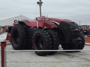 New CaseIH Autonomous Tractor at Husker Harvest Days. (RRN Photo/Joe Gangwish)