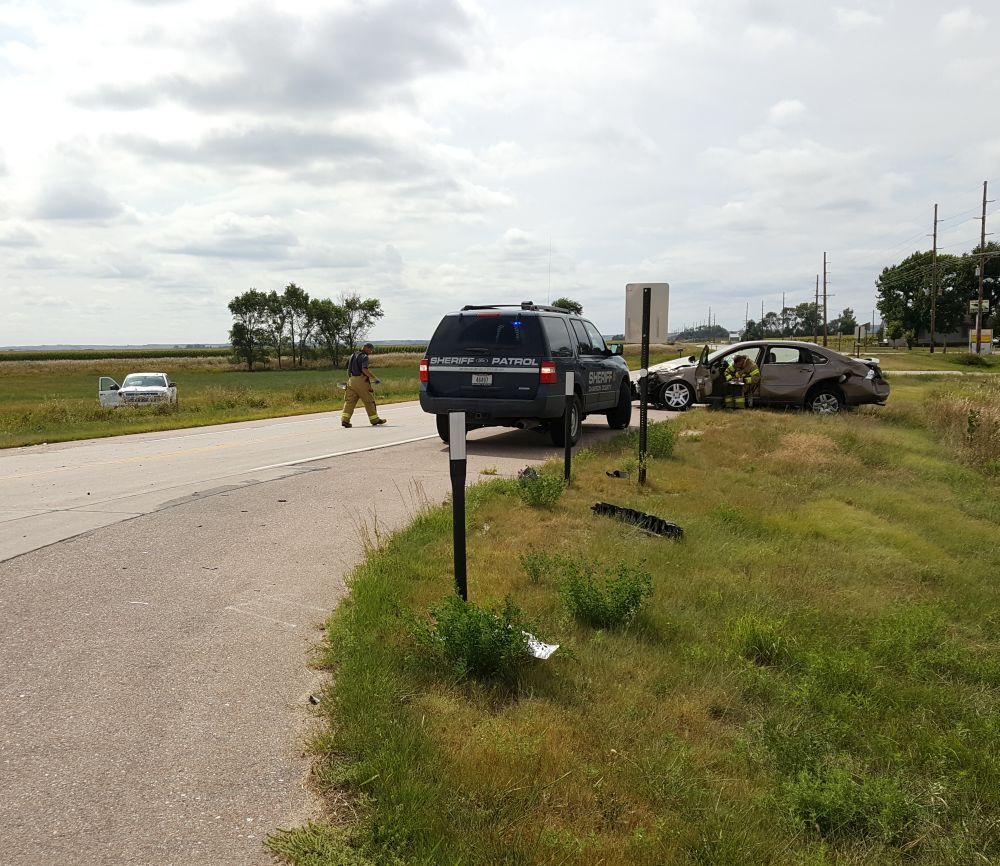 Three injured in accident near Cozad Friday