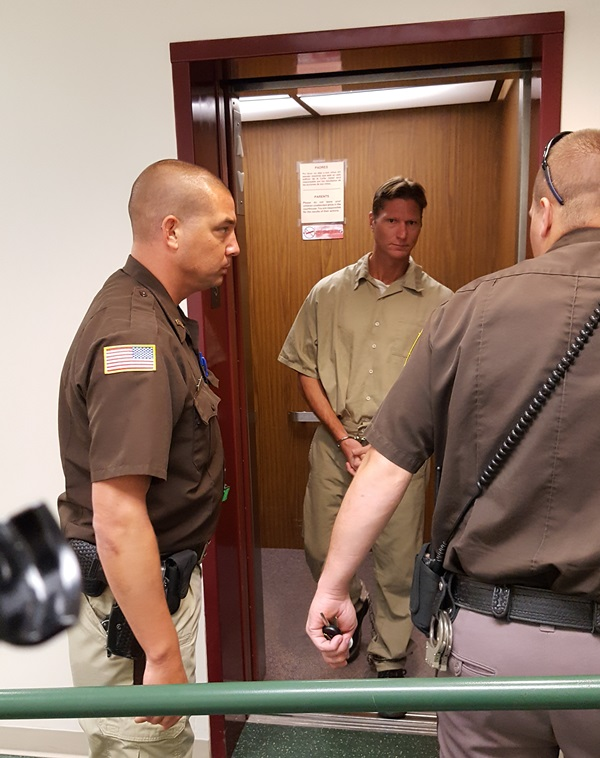 (Audio) Eric McCain awaits resentencing