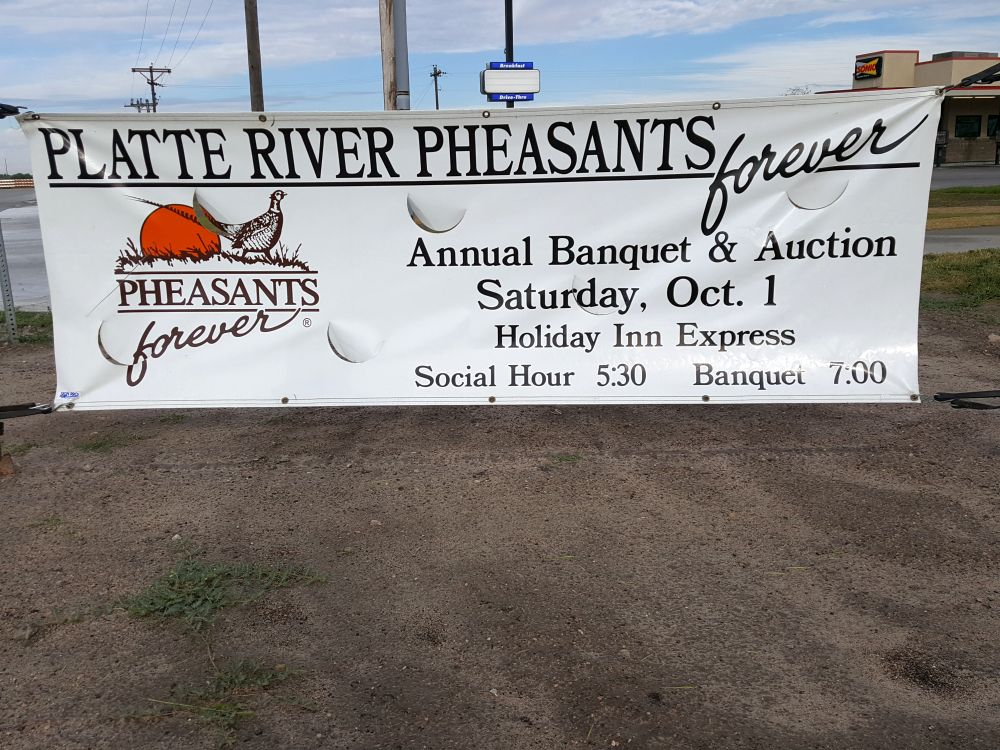 (AUDIO) Platte River Chapter Pheasants Forever hosts 20th annual banquet