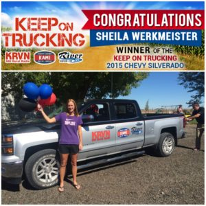(VIDEO) McCook woman wins KRVN pickup