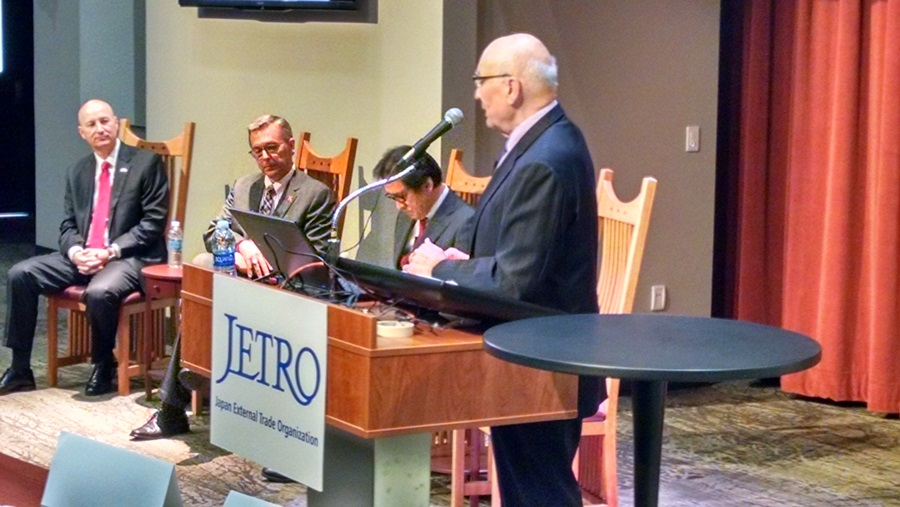 Yeutter Symposium Talks International Trade