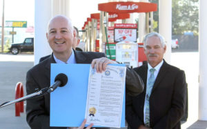 (AUDIO) Governor Ricketts Proclaims Ethanol Day