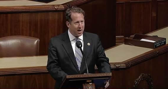 Congressman Smith Speaking on the House Floor.