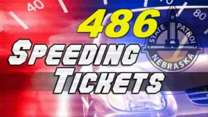 Nebraska State Patrol Issues 486 Citations during Regional Speed Enforcement