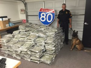 470 Pounds of Marijuana Confiscated in Seward County Traffic Stop