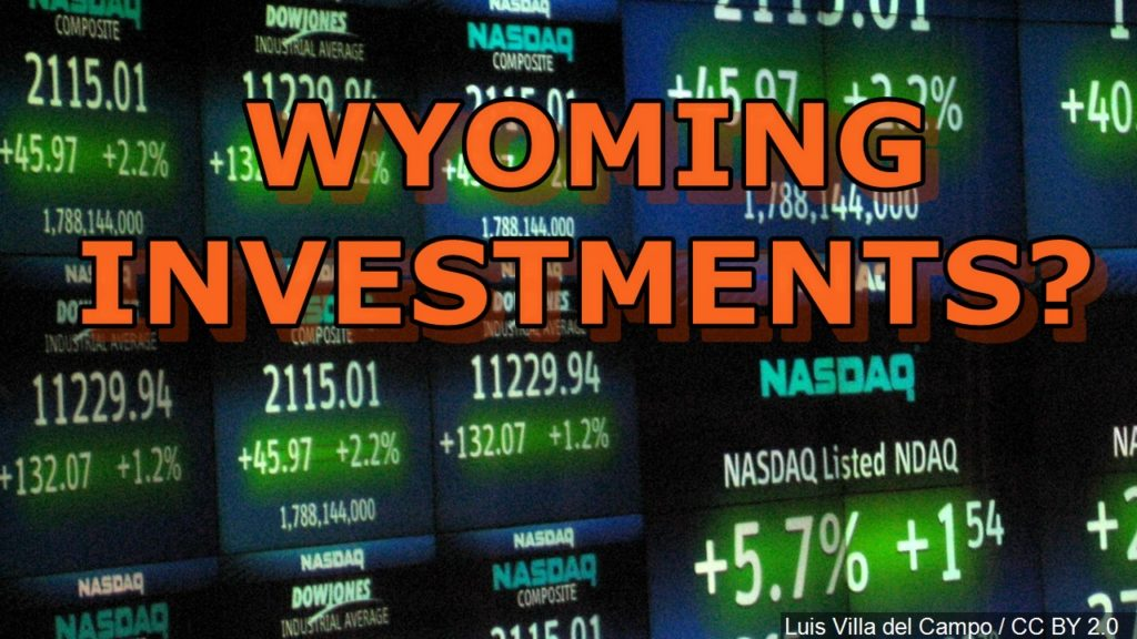 Wyoming voters to decide allocation of state investments